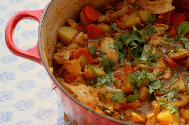 Chicken potato carrot recipe